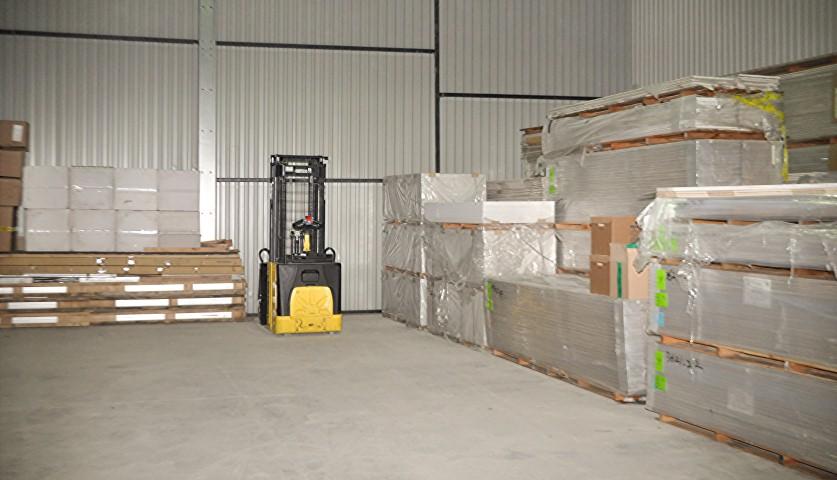 Временное хранение грузов