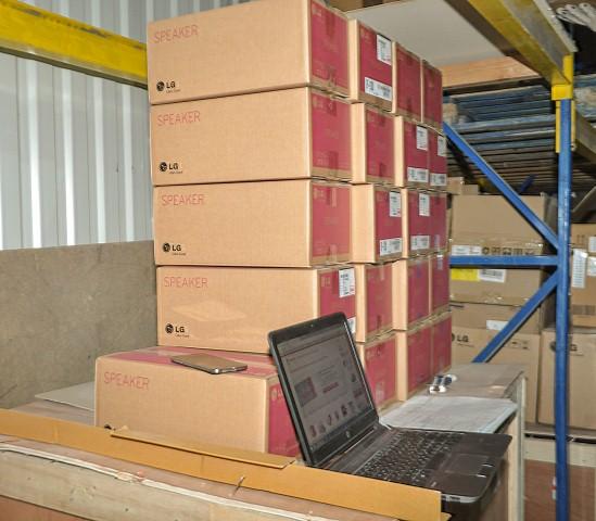 подготовка товаров для доставки